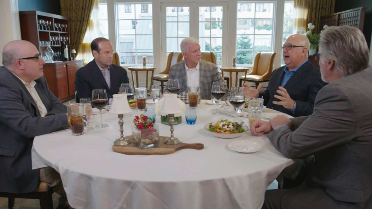 Bite club: Baseball lifers reflect in roundtable