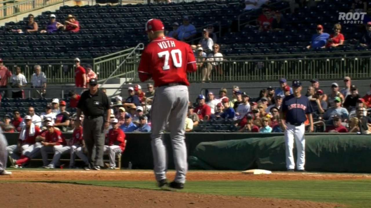 Nats prospect Voth could make impact in '17