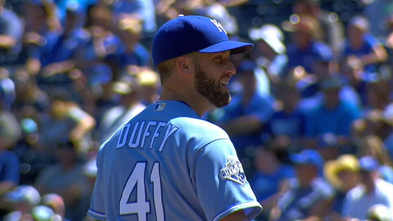 Outlook: Duffy, SP, KC