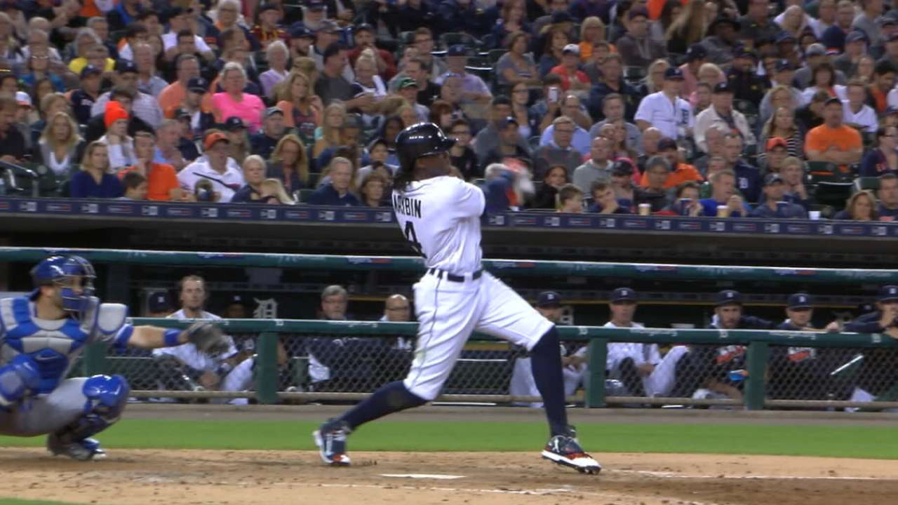 Maybin up for challenge as LF, tablesetter