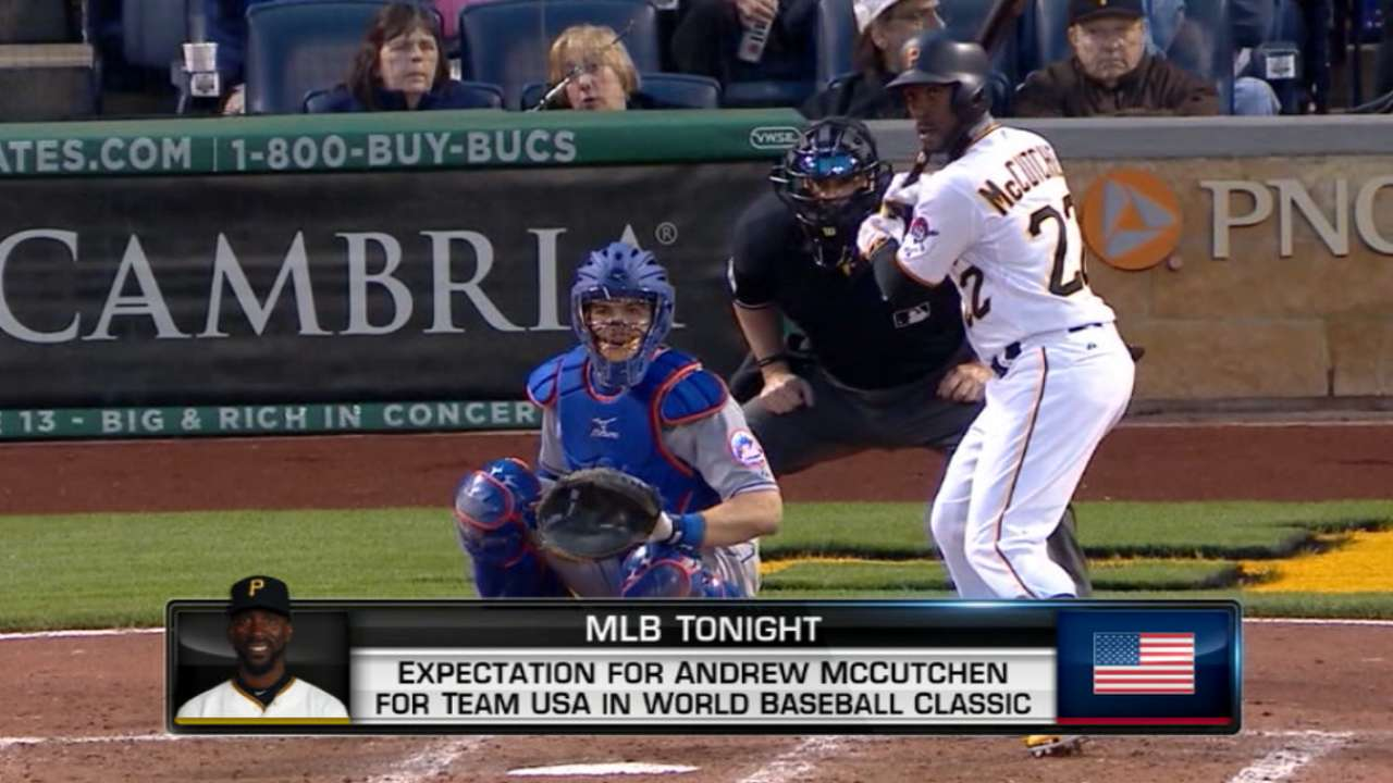 Bucs' OF trio playing in World Baseball Classic