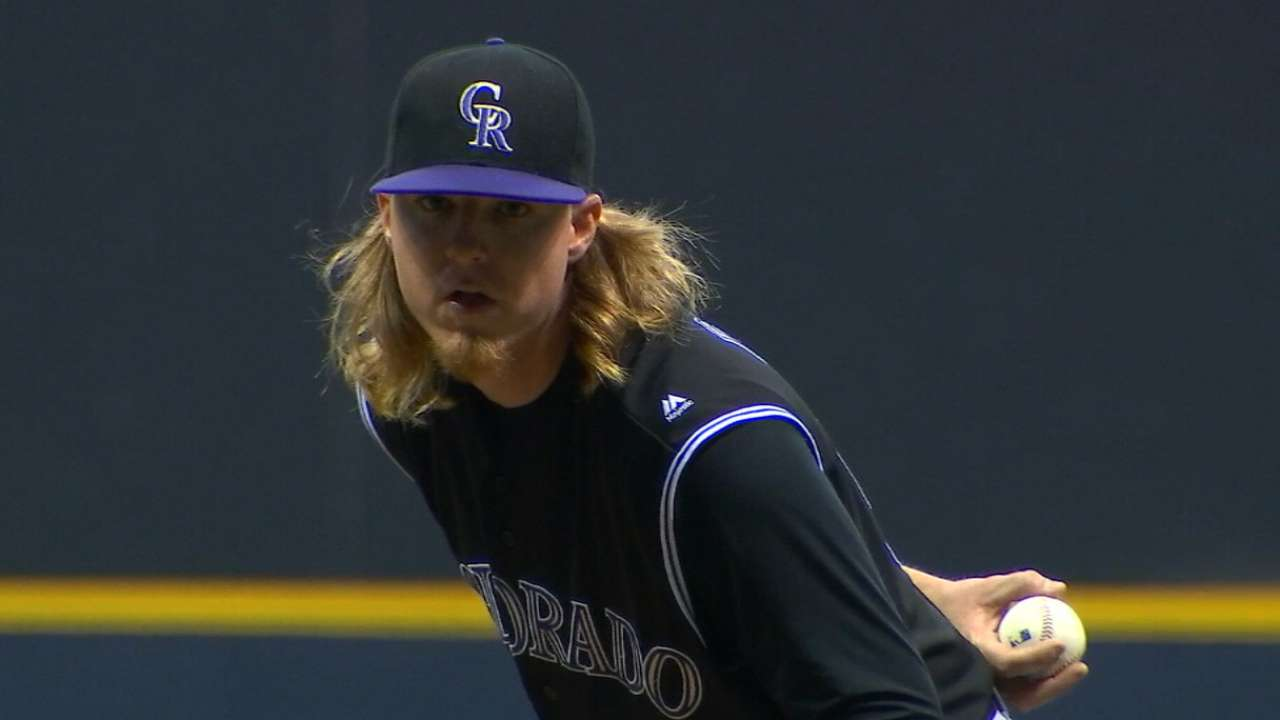 Rockies' ideal season relies on young arms