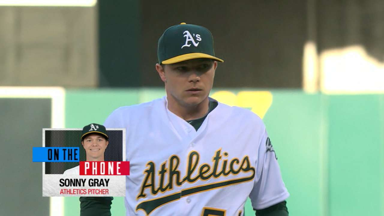 Gray eager for World Baseball Classic