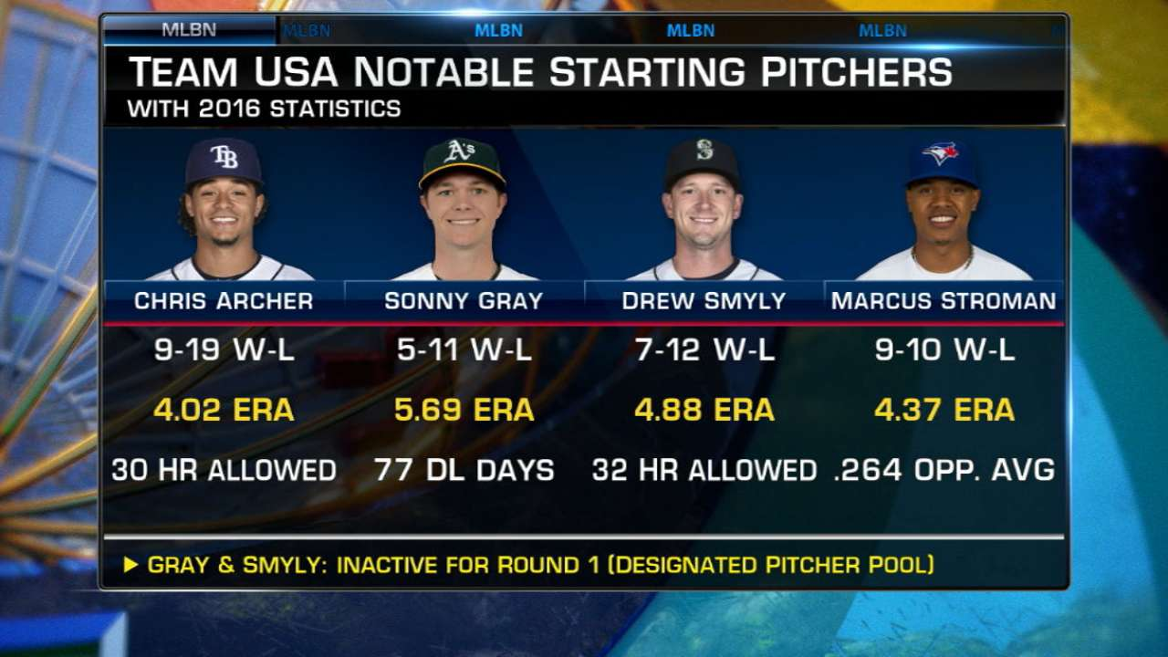 Lowell on Team USA pitching
