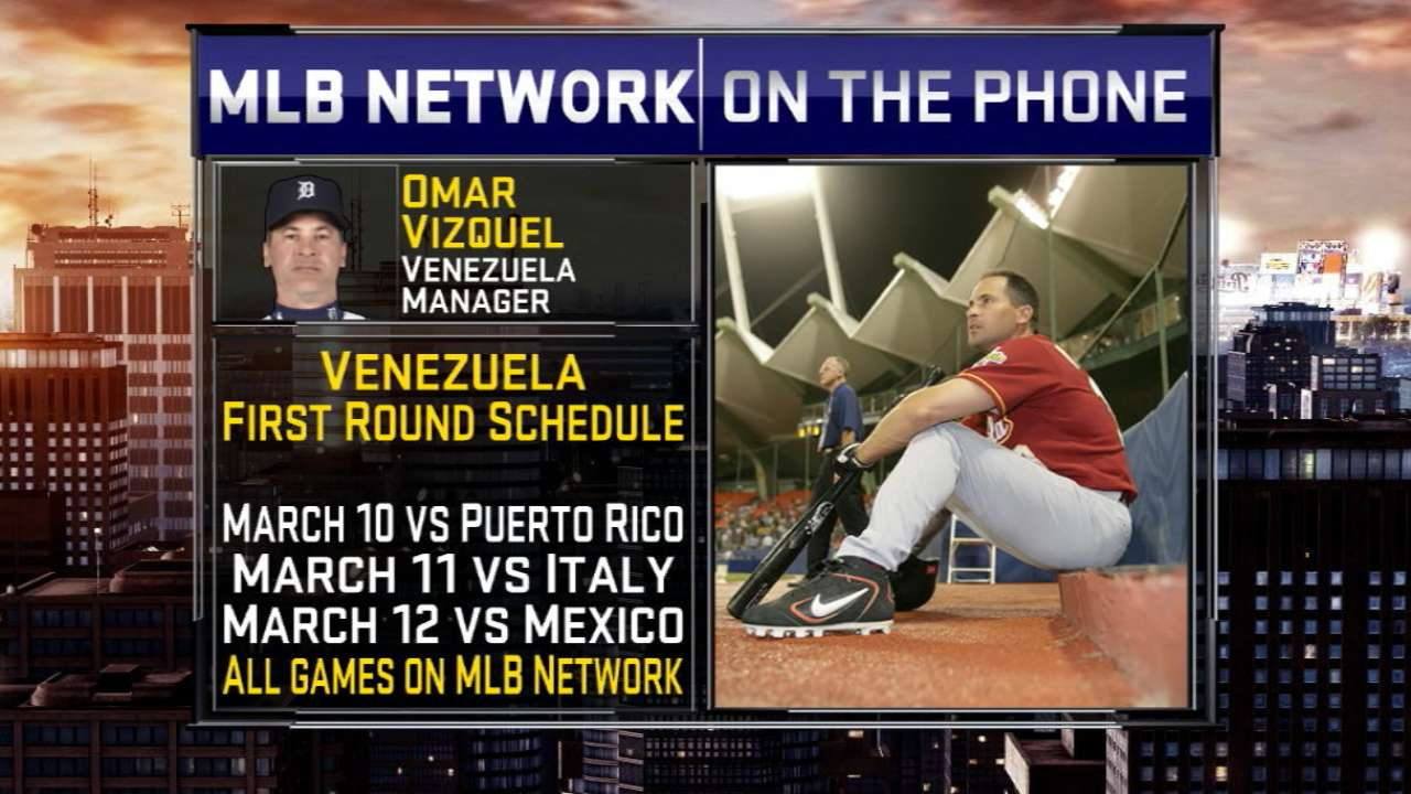 Vizquel on managing Venezuela