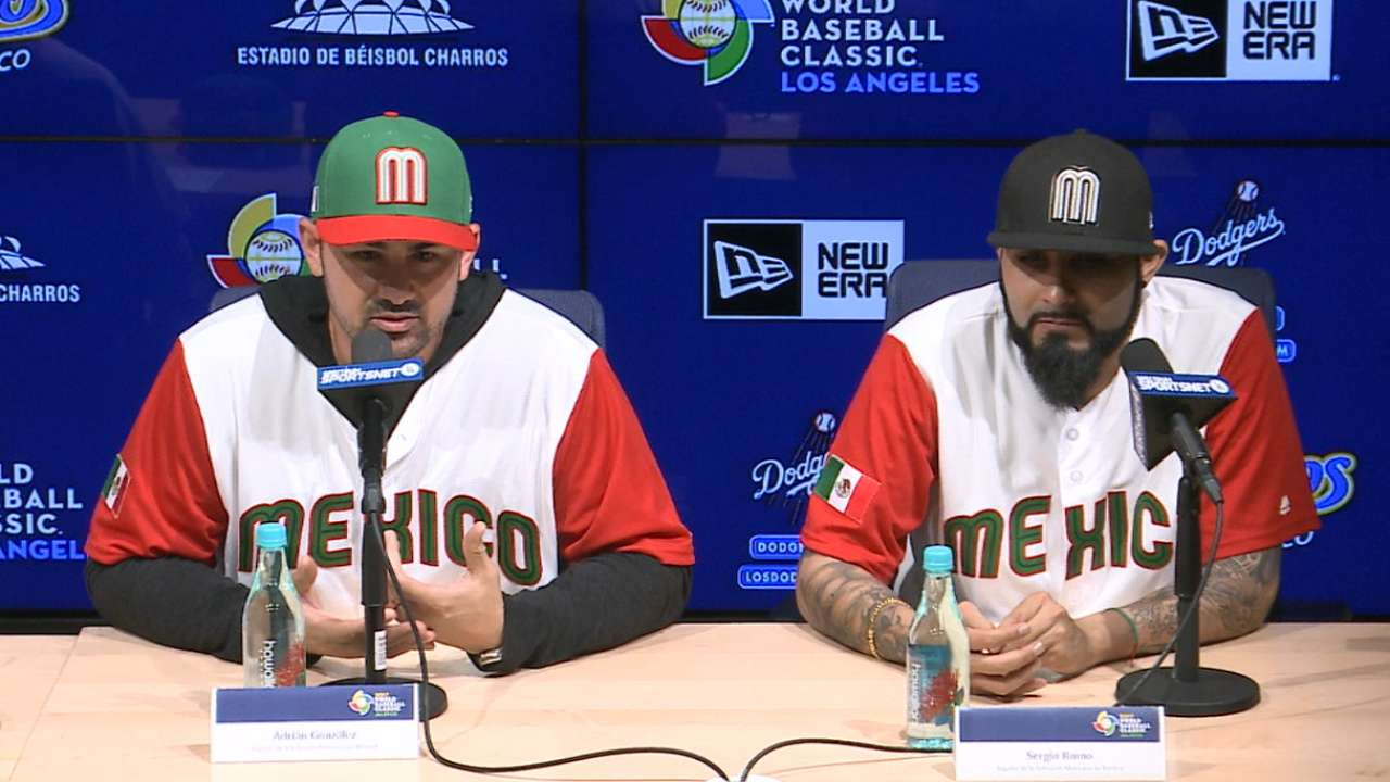Team Mexico ready for WBC 2017
