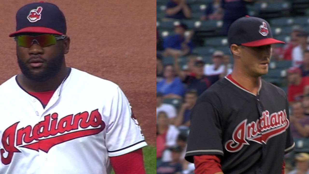 Indians looking to solve roster depth for 2017