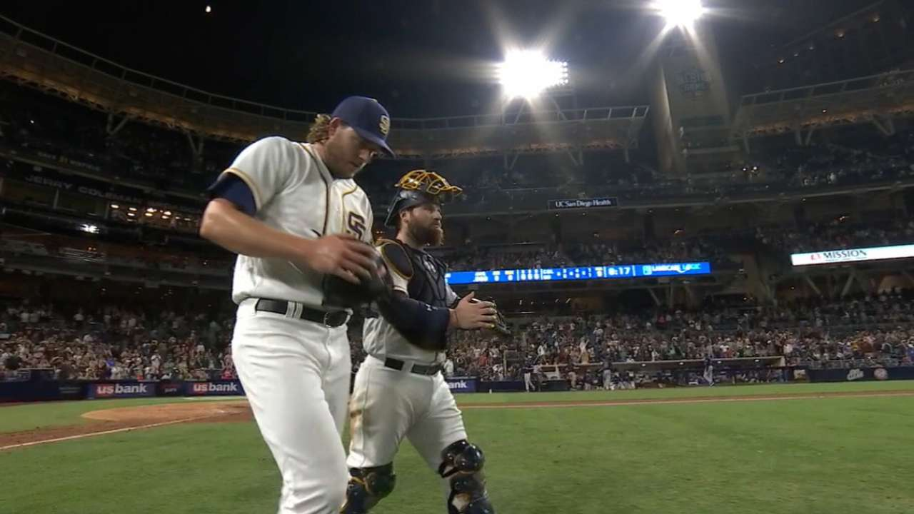Around the Horn: Padres' bullpen features quality, depth