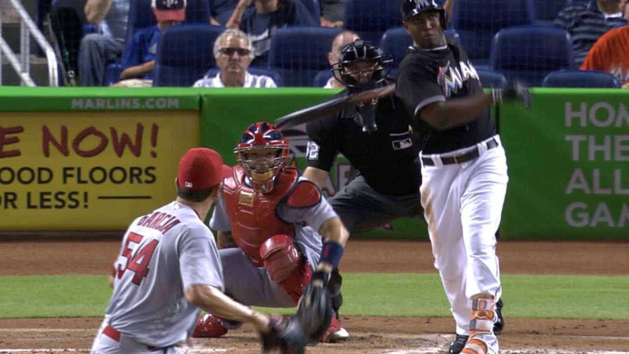 Around the Horn: Marlins strong in outfield