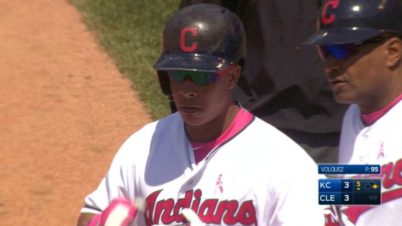 Indians to carefully monitor Brantley's pace