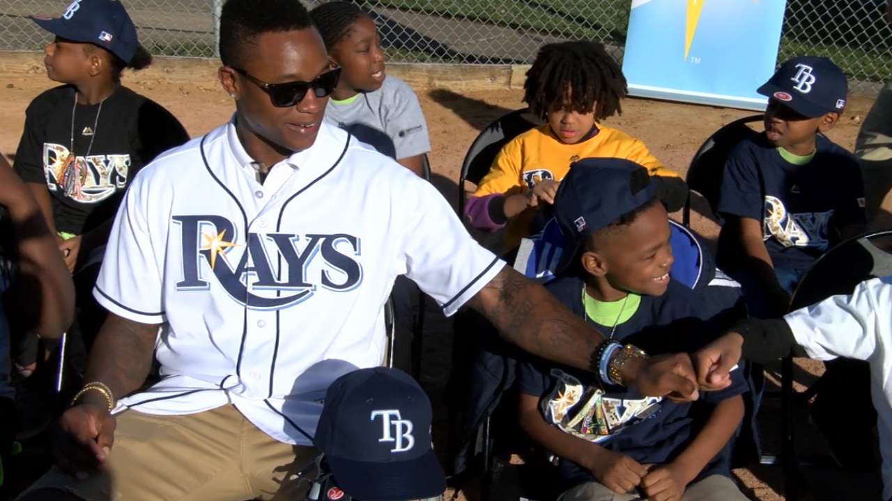 Rays rededicate local ballfield after renovation