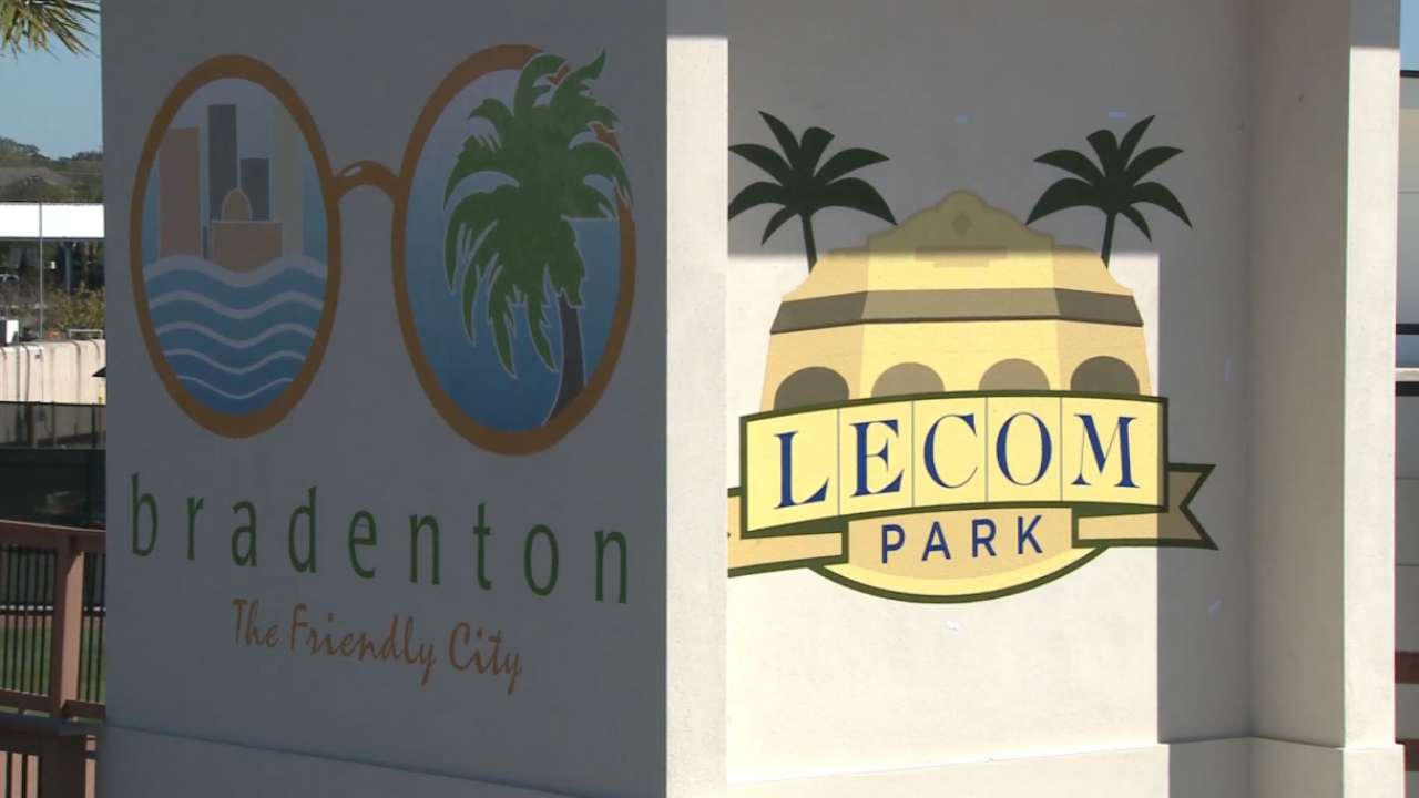 Pirates rename spring home LECOM Park