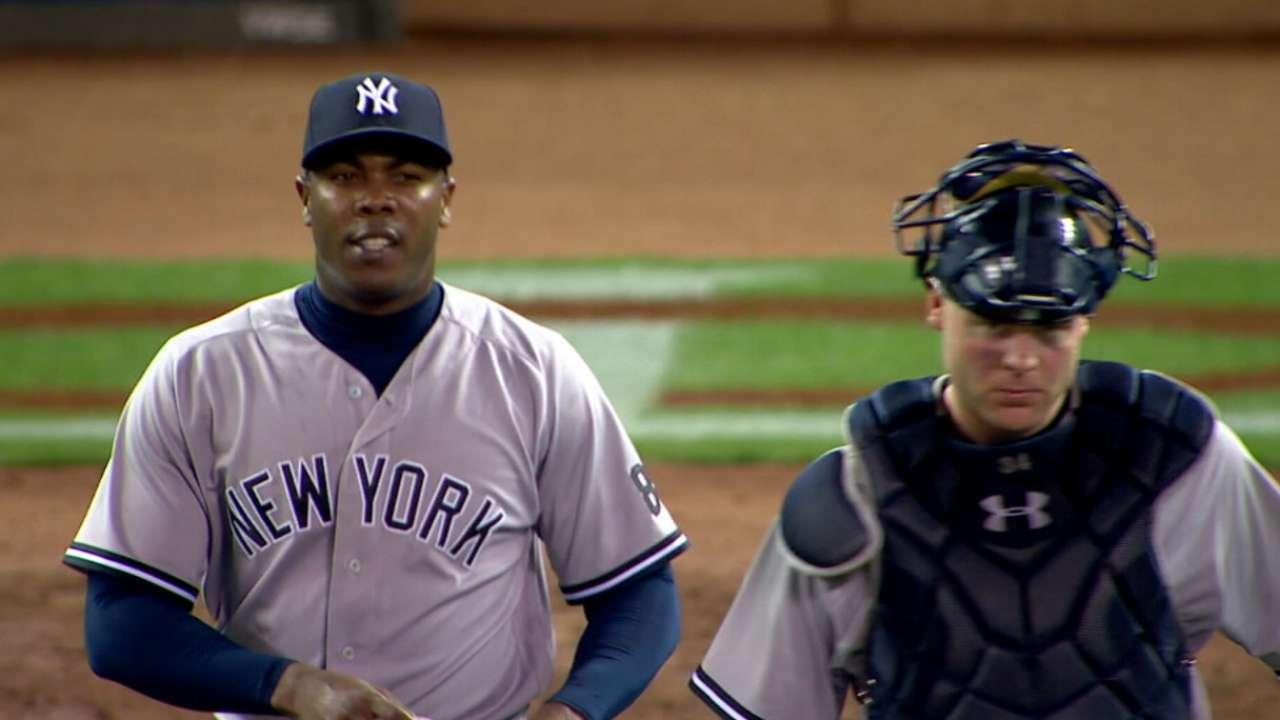 Chapman cree que Yankees pueden seguir los mismos pasos que Cachorros