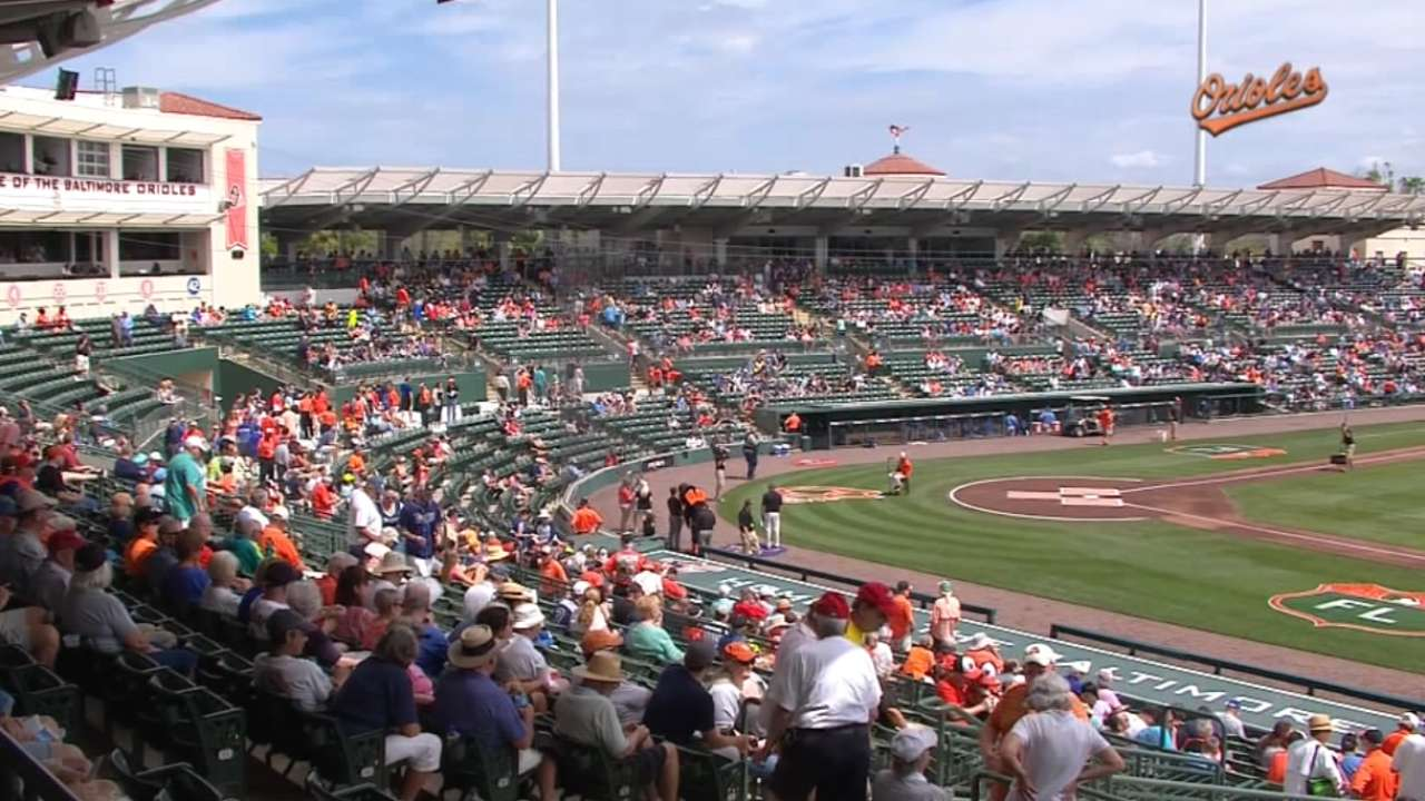O's begin title quest as Spring Training hits Sarasota