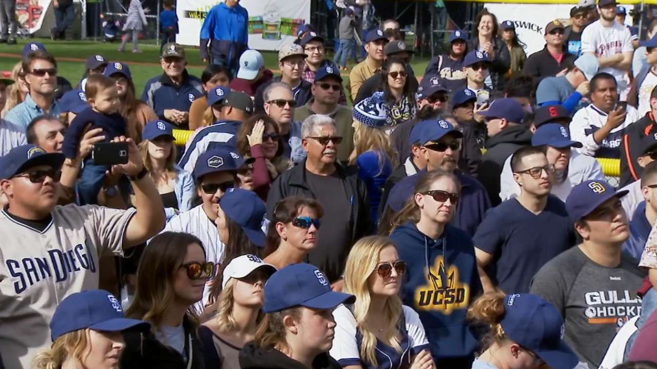 Thousands rally at Petco to Celebrate San Diego