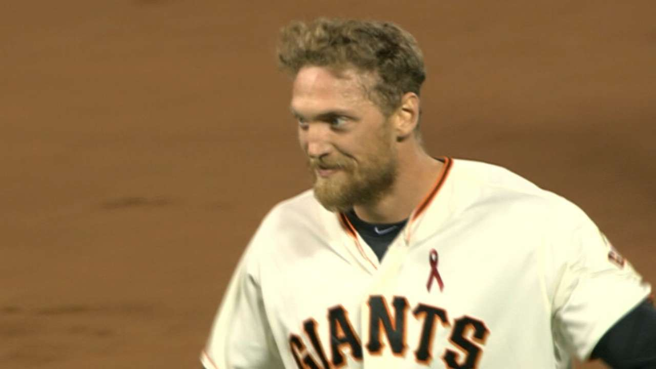 Healthy Pence, Giants' success go hand in hand