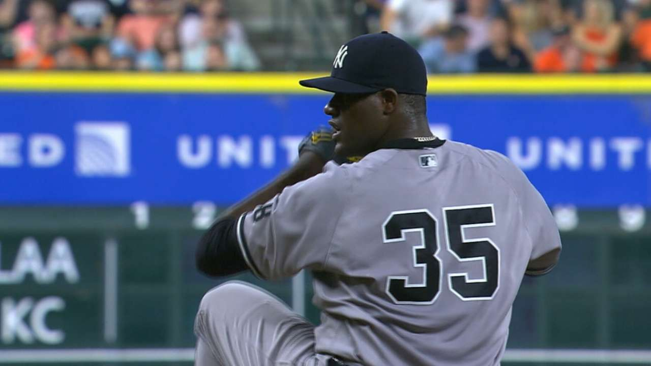Outlook: Pineda, SP, NYY
