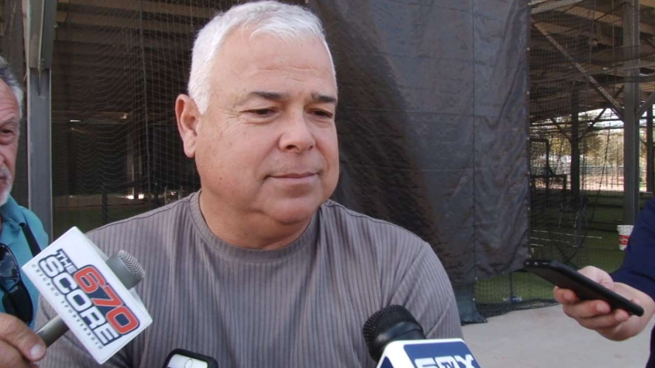 Renteria happy to get started