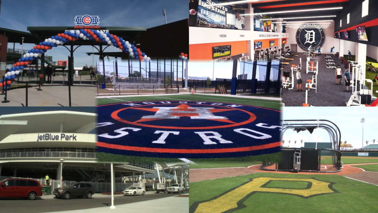 Renovated Spring Training parks