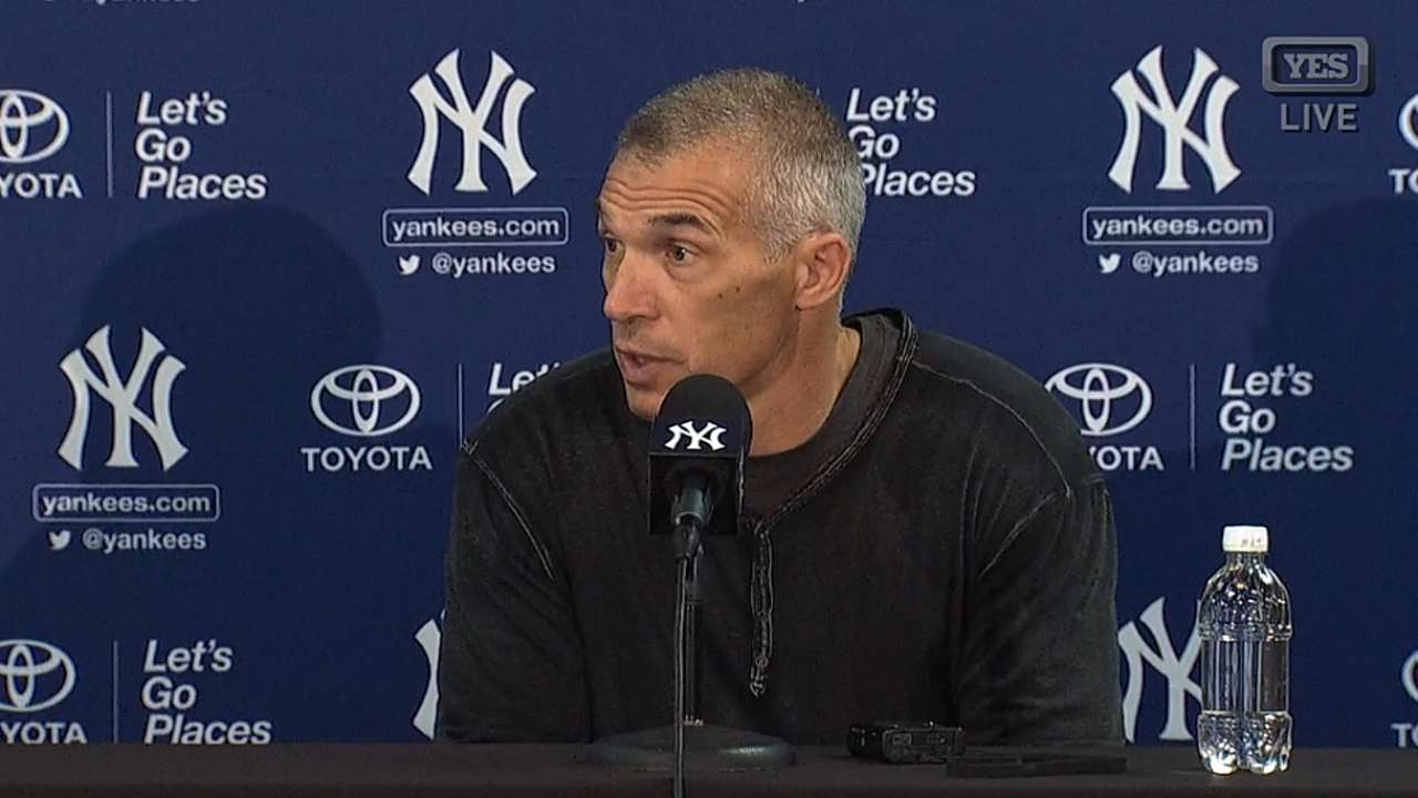 Girardi on competition, youth