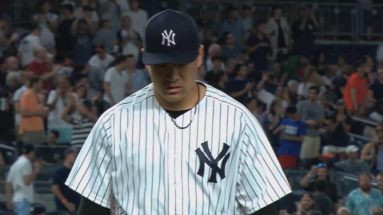 Girardi wastes no time tabbing Tanaka for Opening Day