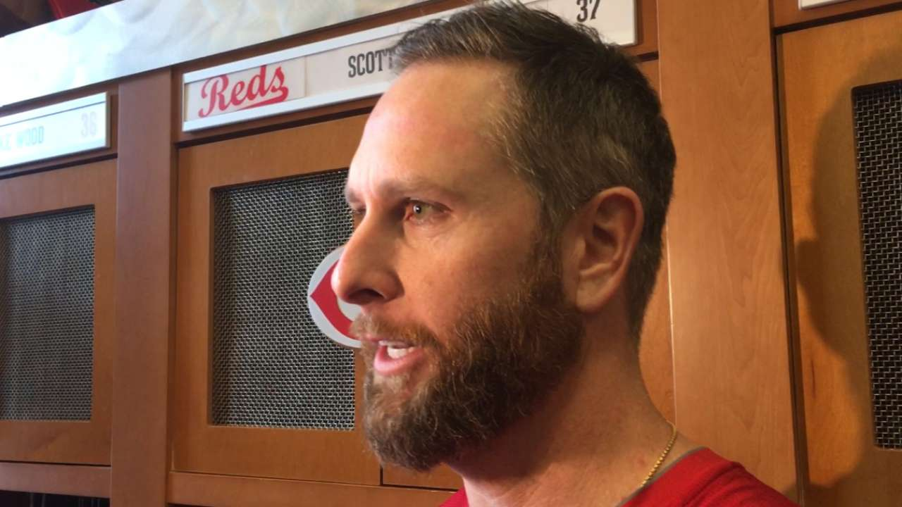 Feldman excited to be on Reds
