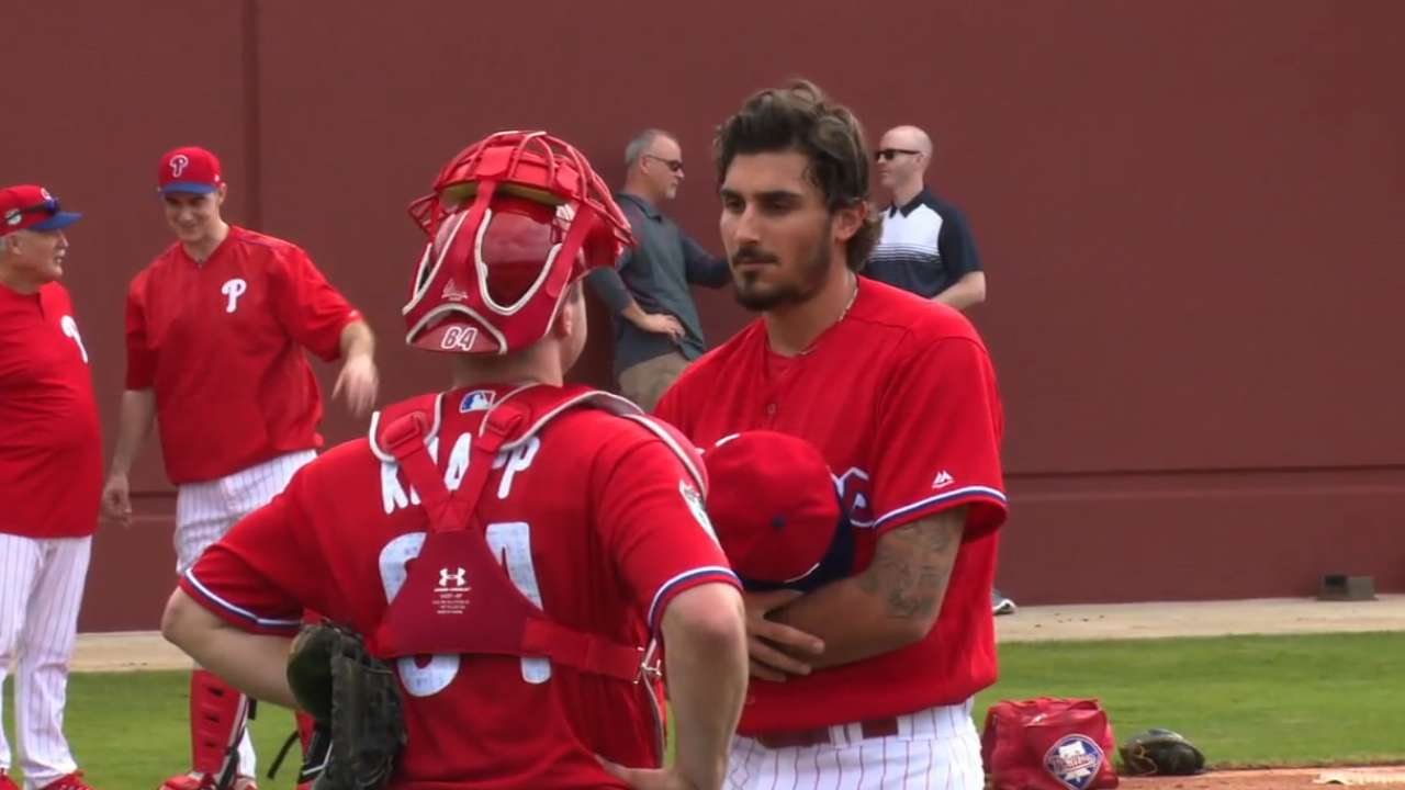 Eflin reports to camp