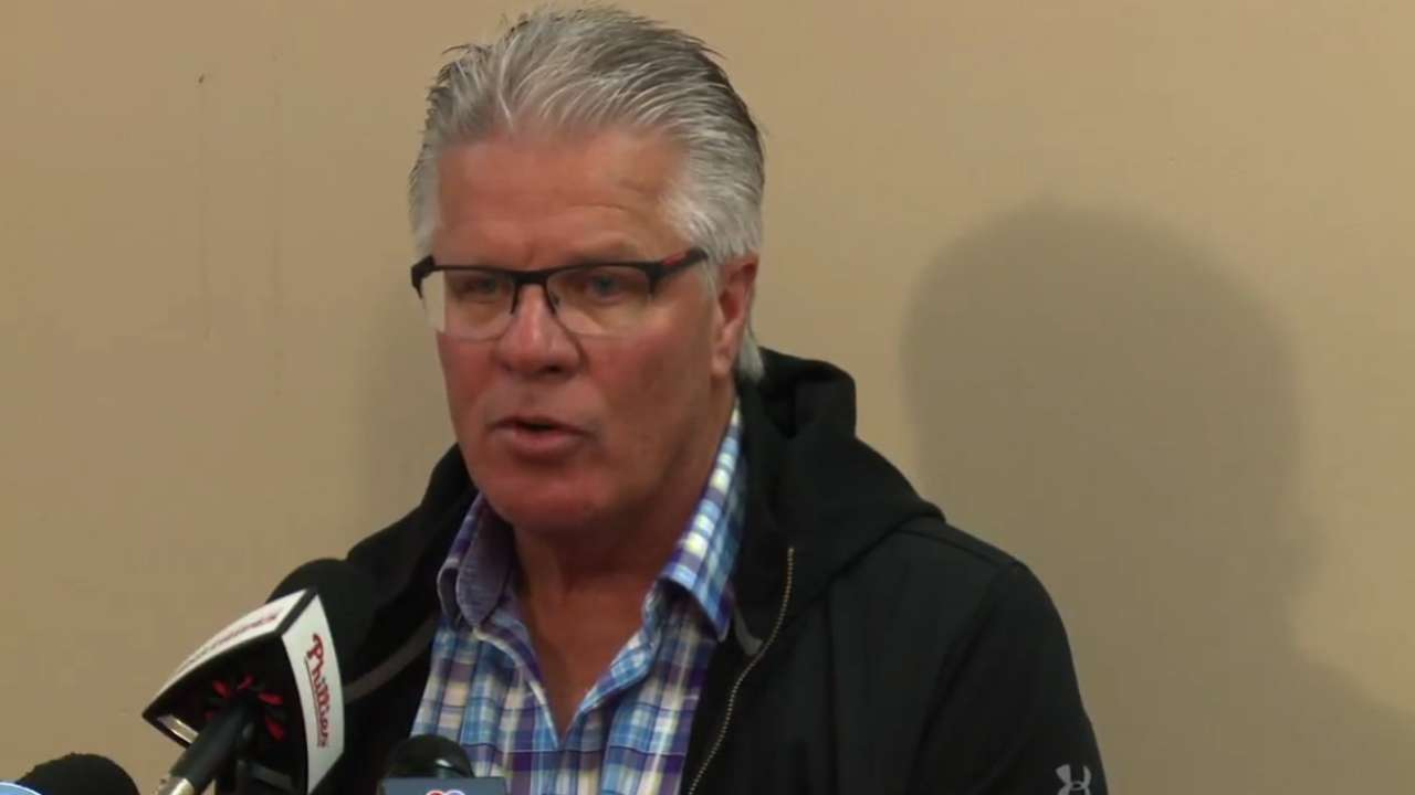 Mackanin: Phils' fire apparent on first day