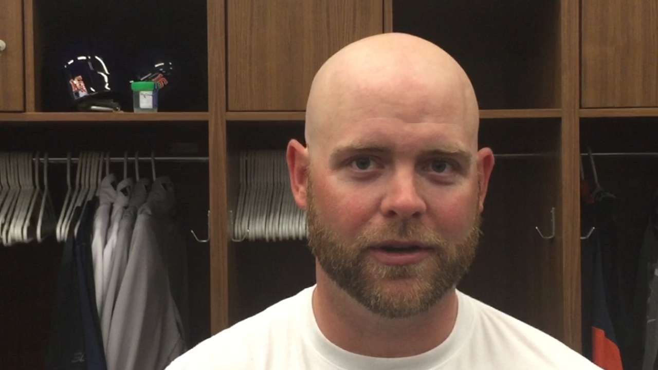 McCann building rapport with Astros pitchers