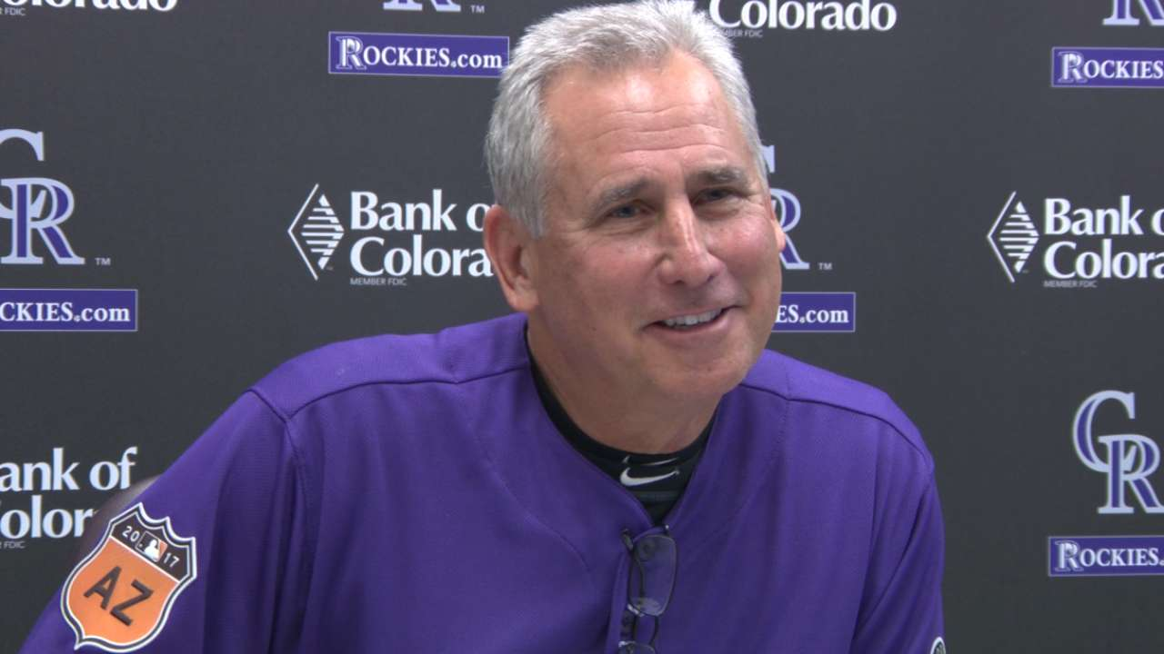 Black on pitching at Coors Field