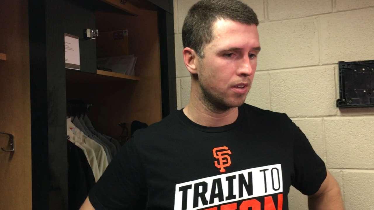 Altered roles, not faces, in Giants' bullpen