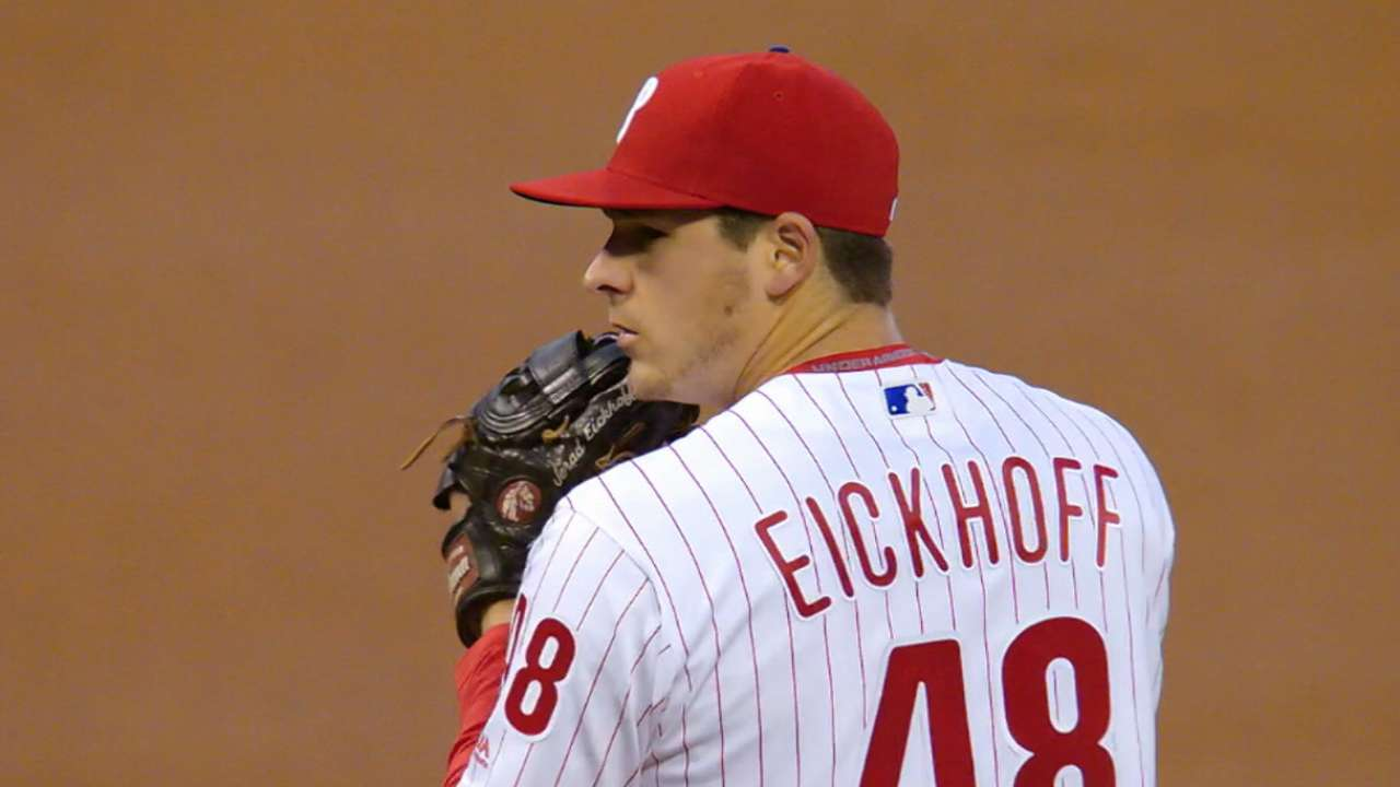 Outlook: Eickhoff, SP, PHI