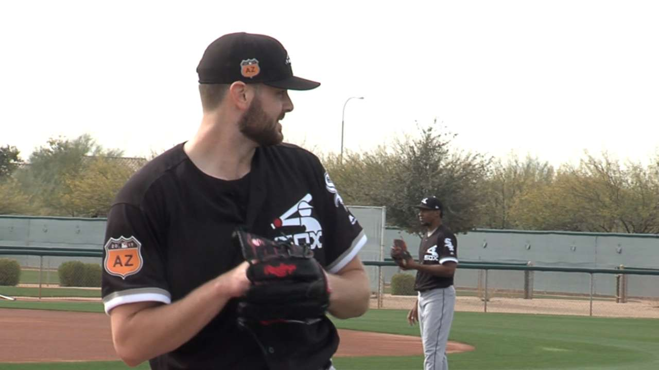 Giolito feels work from offseason paying off early in camp