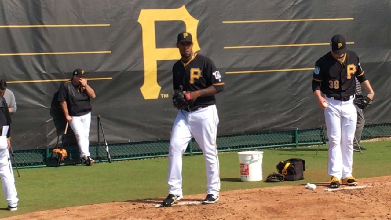 Nicasio content to pitch out of Pirates' bullpen