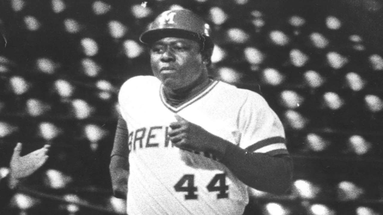 Aaron cemented legacy during time with Brewers