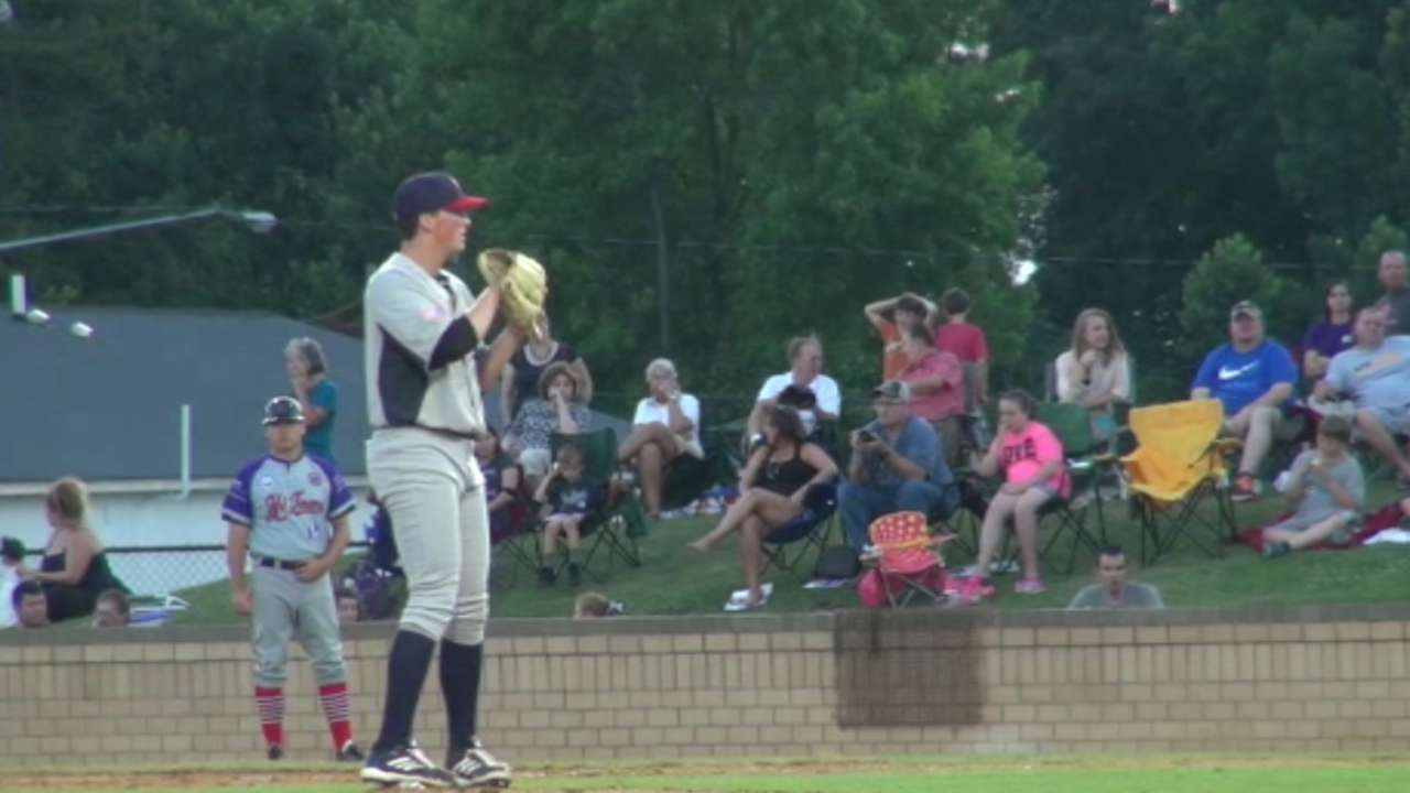 Funkhouser flexes strikeout stuff in Flying Tigers debut
