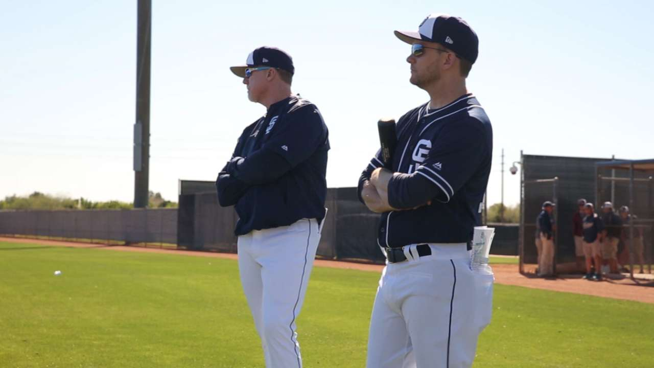 Green on Padres' expectations