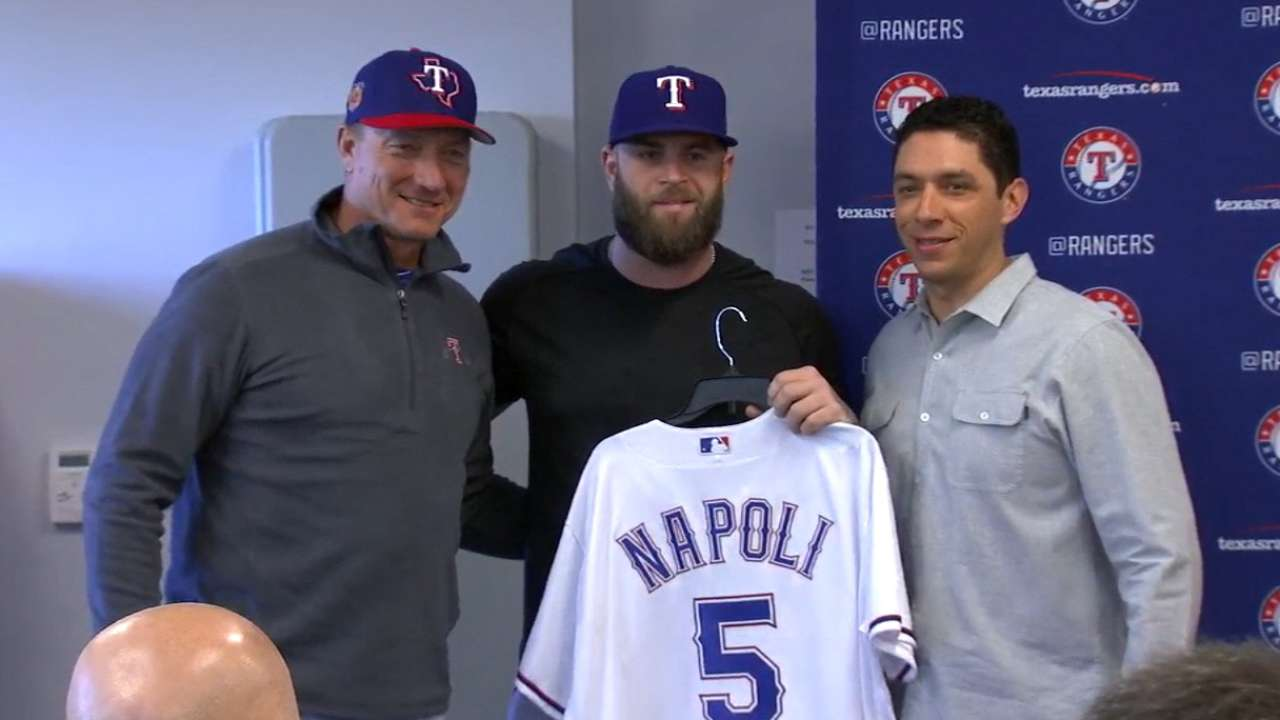 Napoli on returning to Texas