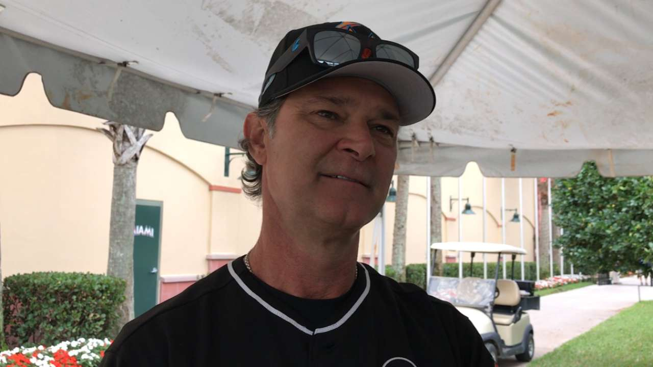 Mattingly keeps focus on the field