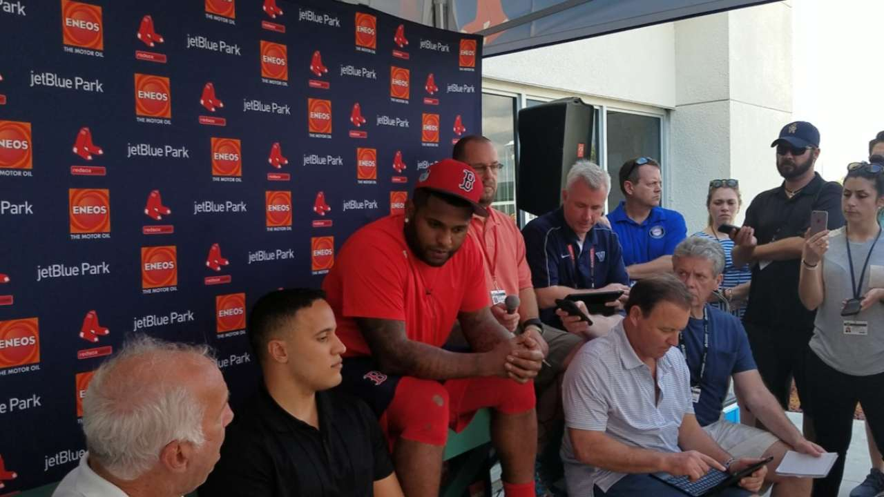 Sandoval: 'I have to prove everything'