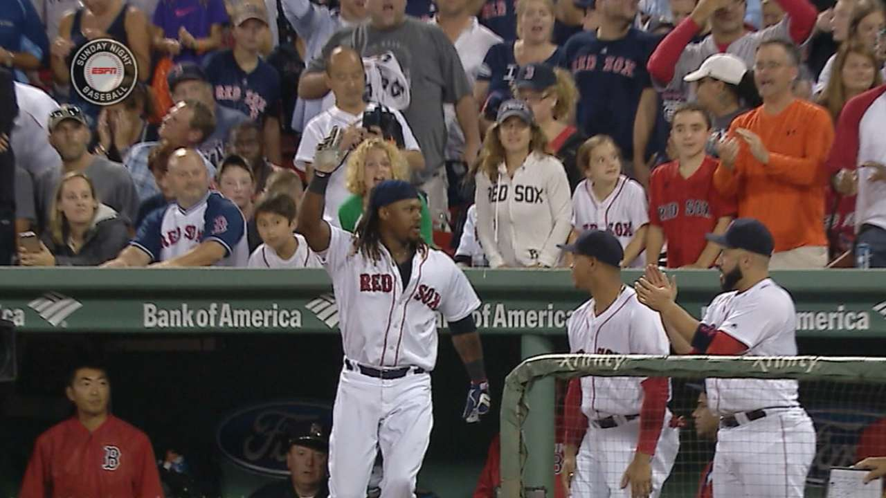 Hanley on Papi's legacy: 'Keep that rolling'