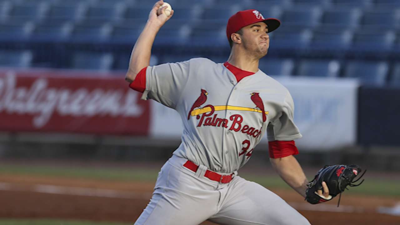 Flaherty, Bader named Cards prospects of the year