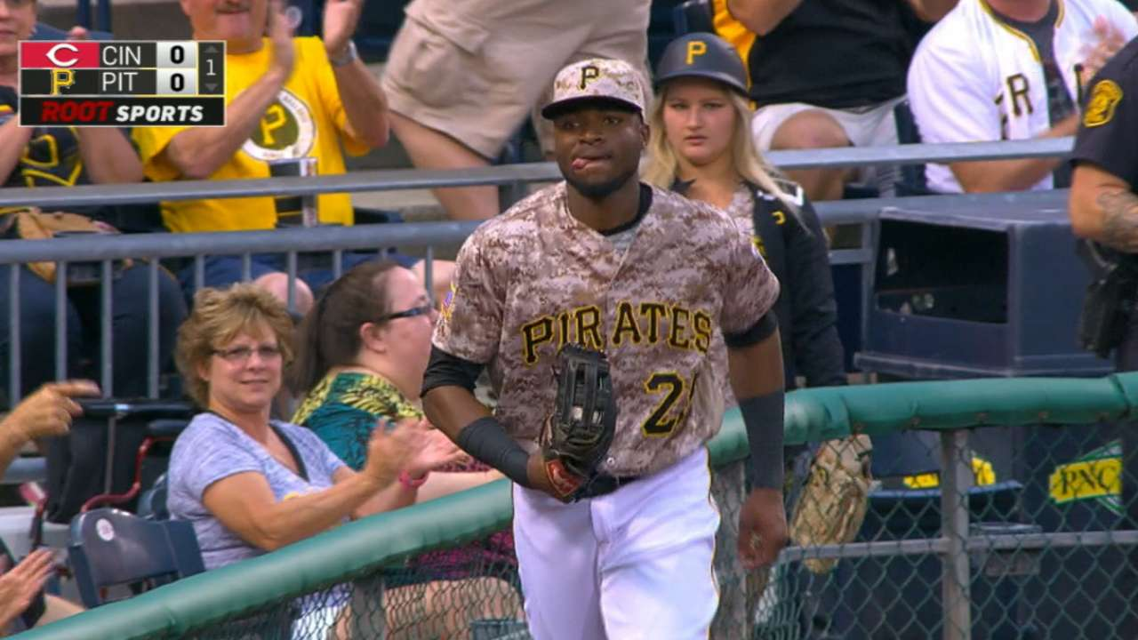 Polanco to start in left field