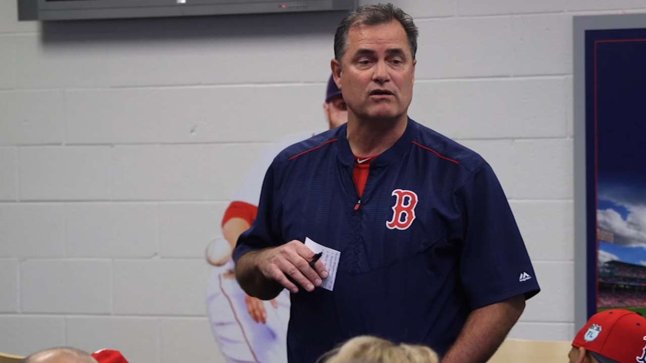 Sox open camp ready to address 'unfinished business'