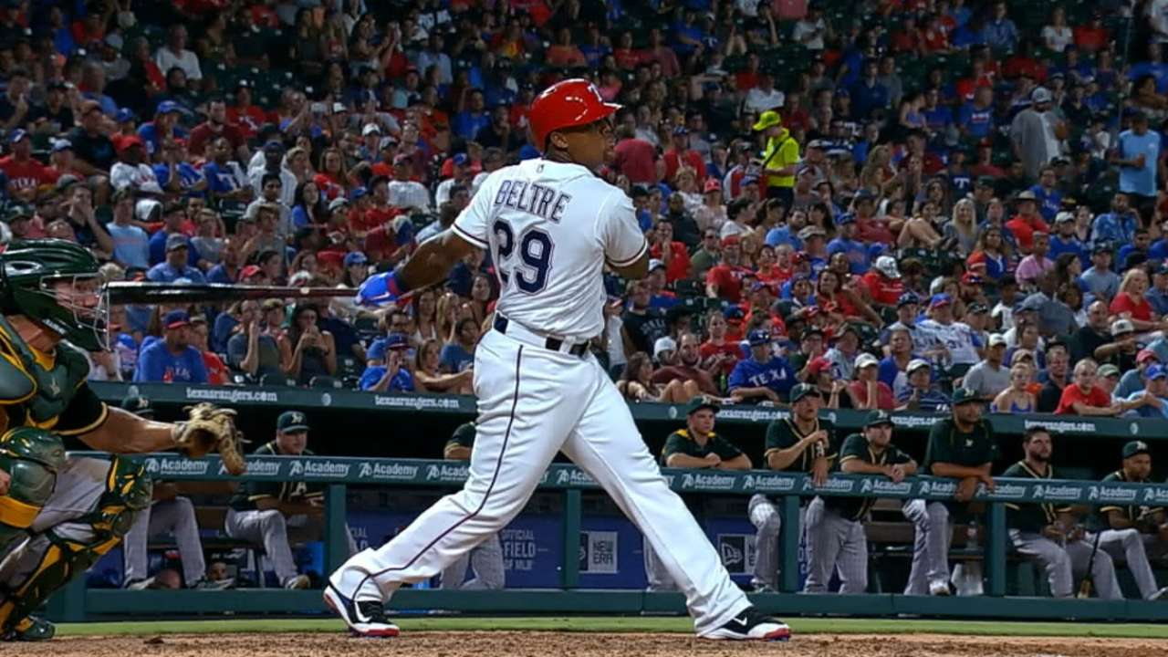 Beltre not ruling out playing at start of Classic
