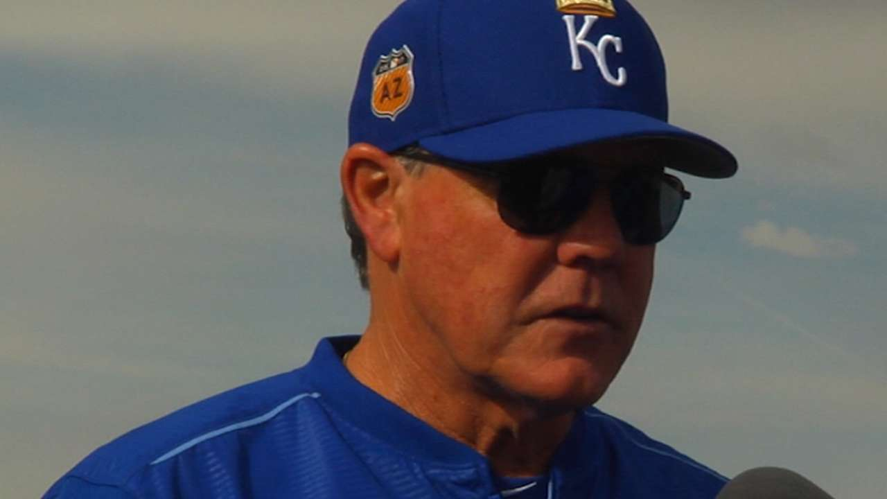Gordon prepared to do Royals' outfield shuffle