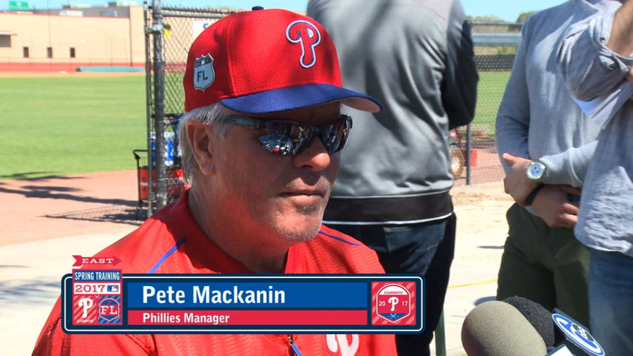 Sweet springtime: Phils keep it lively at camp