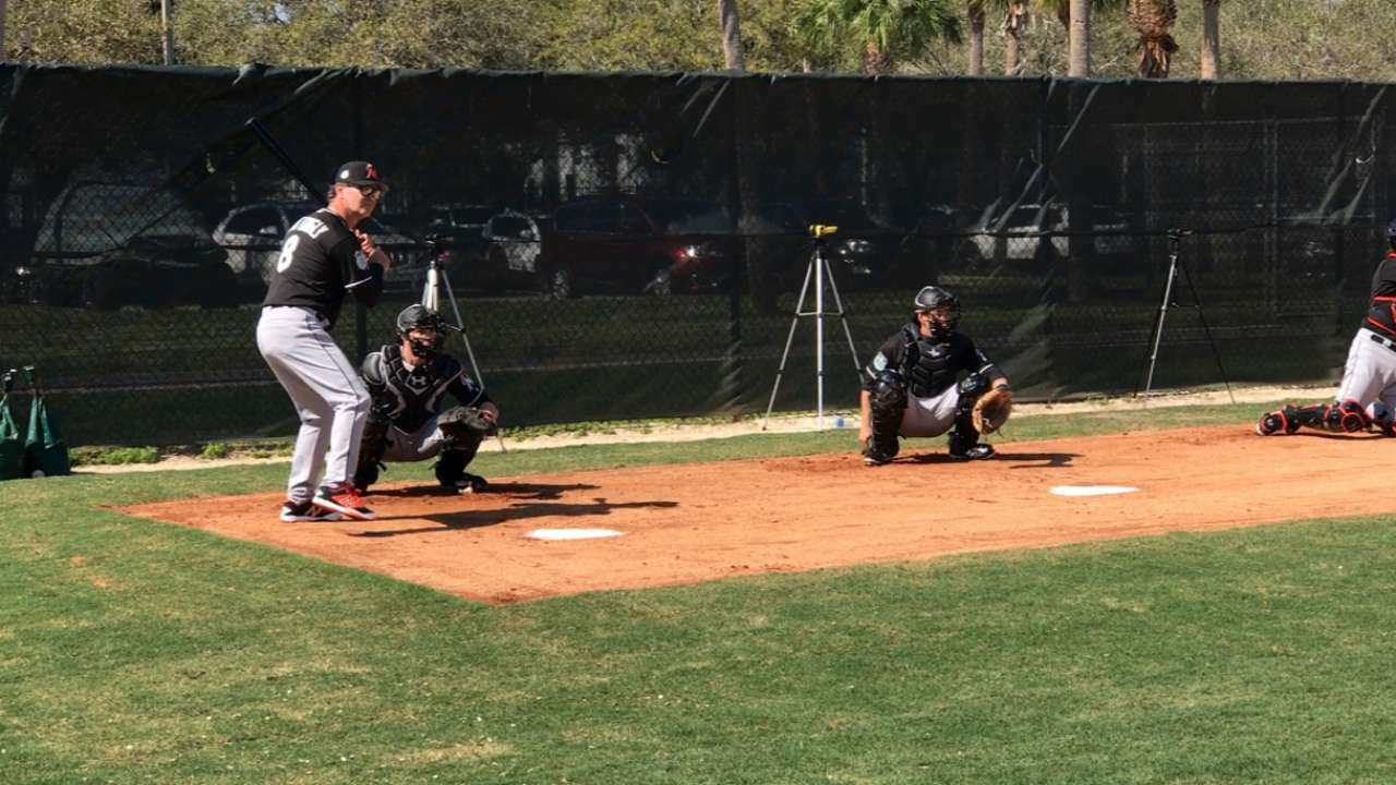 Donnie Baseball steps up to the plate during camp