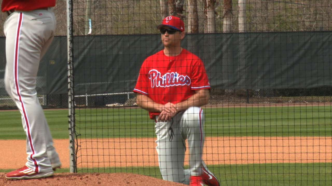 Lidge on Phils' arms: 'They've got the talent'
