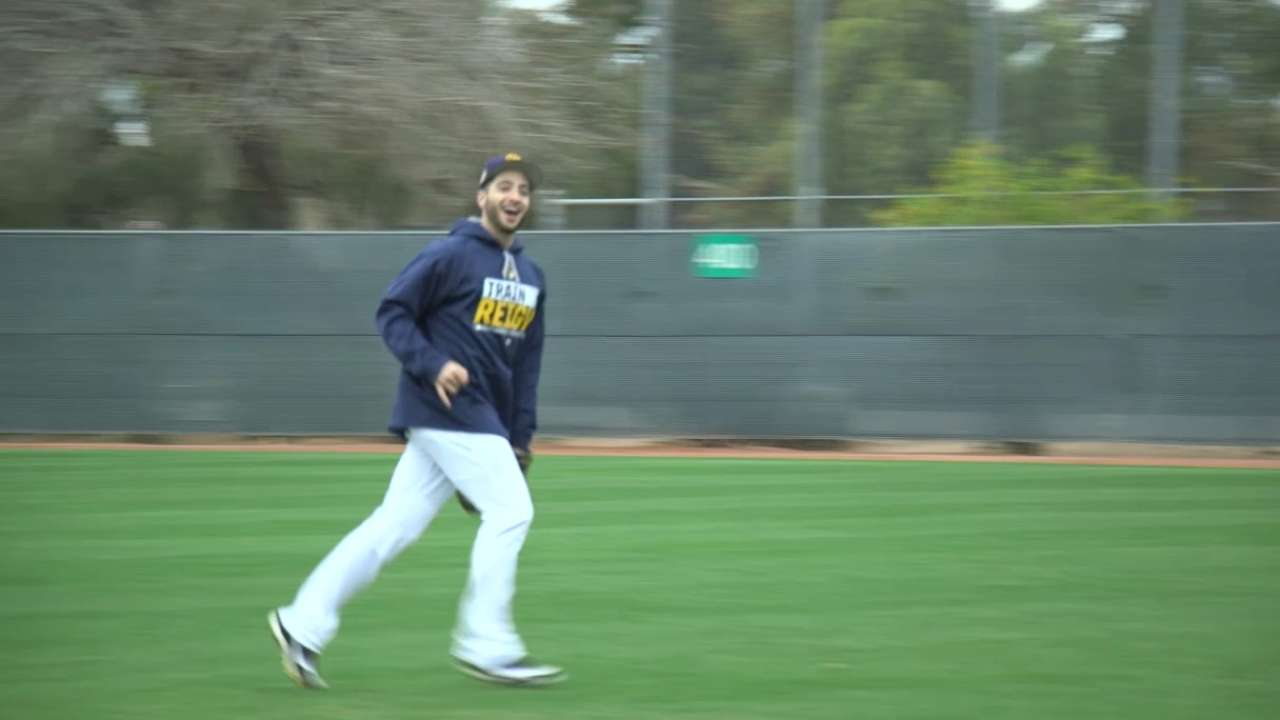 Braun prepares for 11th season with Brewers